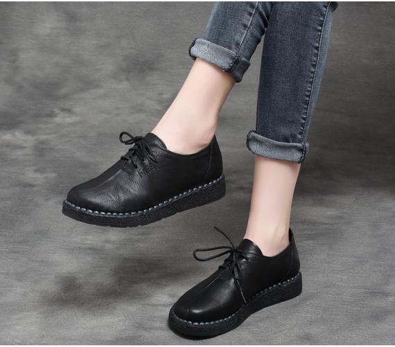 Women oxford shoes, Flat shoes women
