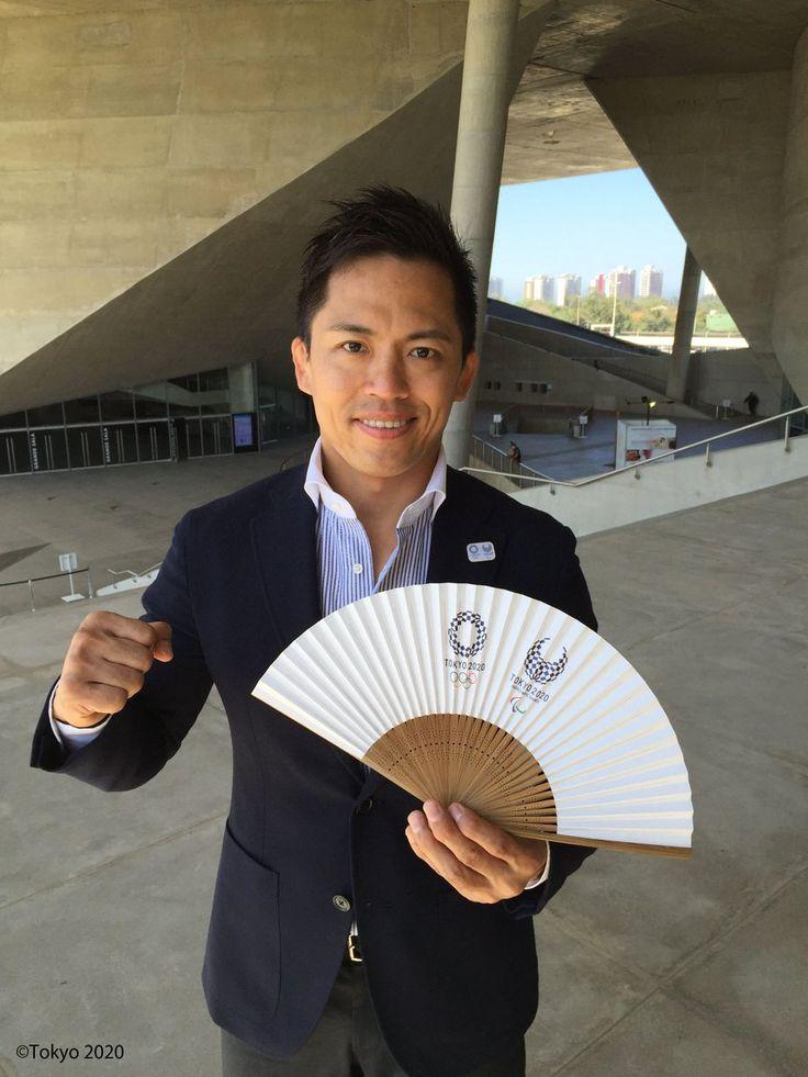 元オリンピアンの野村忠宏さん #RiotoTokyo #Tokyo2020 #Rio2016