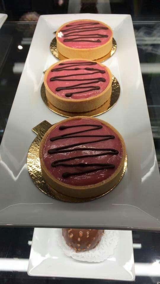 Cranberry Tarts  Made with love @ Mitsu Sweet Café, Moose Jaw, Saskatchewan Canada http://www.mitsucafe.ca/