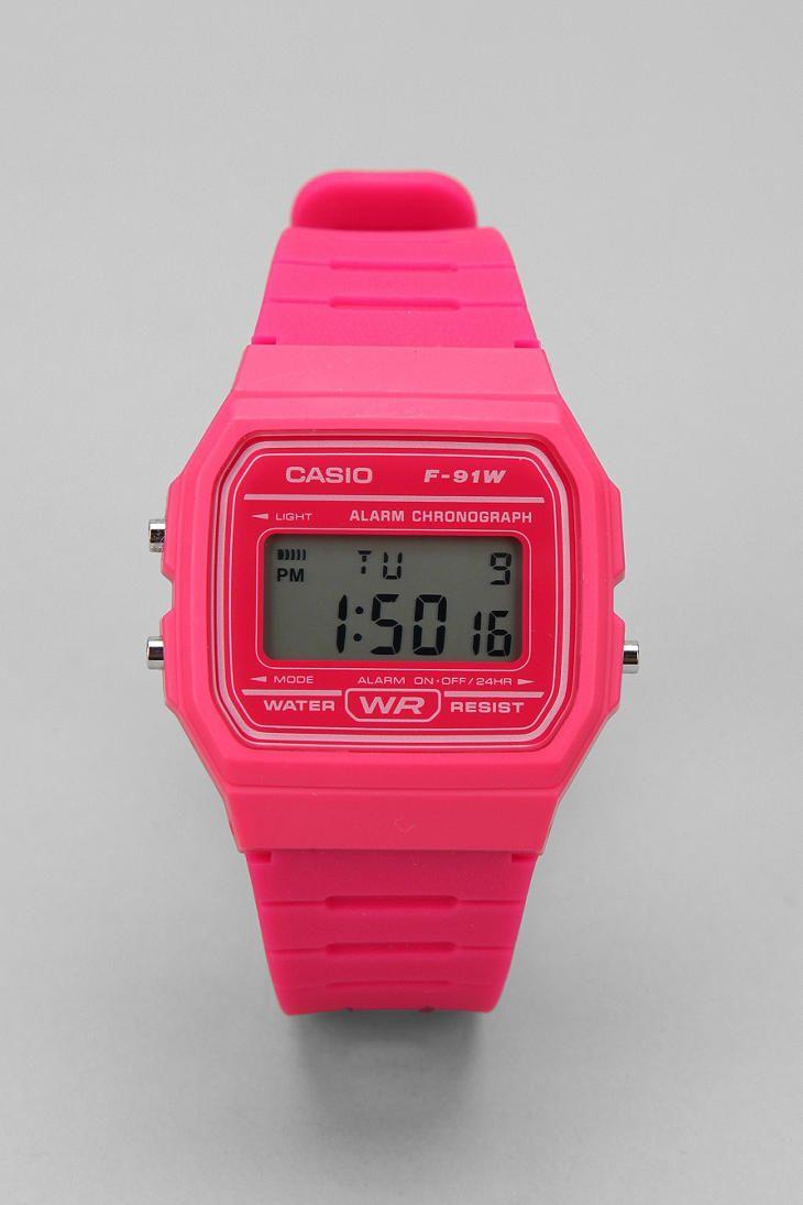 casio neon digital watch