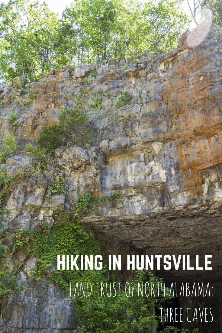 Huntsville Hiking: Land Trust of North Alabama Three Caves - Huntsville, Alabama, USA