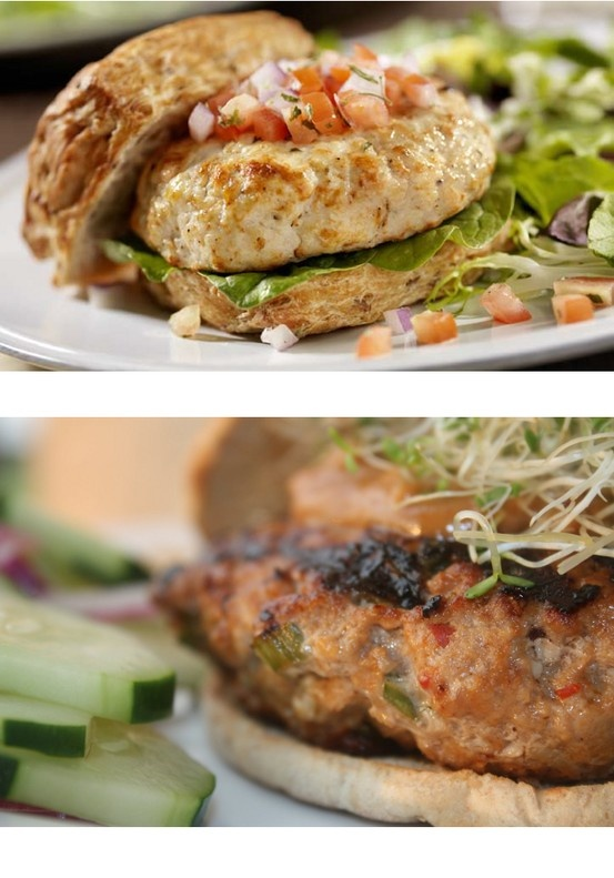 ☤☤☤☤☤ #Fat Burning #Recipe - Asian Turkey Burgers ☤☤☤☤☤  #INGREDIENTS - RECIPE MAKES 3 SERVINGS (3 BURGERS) • 1 pound ground turkey • ¼ cup minced onion • 3 tablespoons chopped fresh parsley • 2 tablespoons Worcestershire sauce • 2 tablespoons minced green bell pepper • 1 tablespoon soy sauce • 1 tablespoon water • 1 tablespoon grated fresh ginger • Salt and pepper • 2 cloves garlic, crushed  Check out www.sumoslim.com for complete recipe information along with 250+ more fat burning recipes