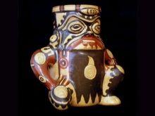 Handmade Chorotega pottery from Costa Rica. #Indigenous #art.