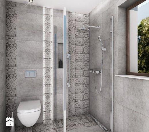 Łazienka styl Nowoczesny - zdjęcie od BeataSkalska Projektowanie wnętrz