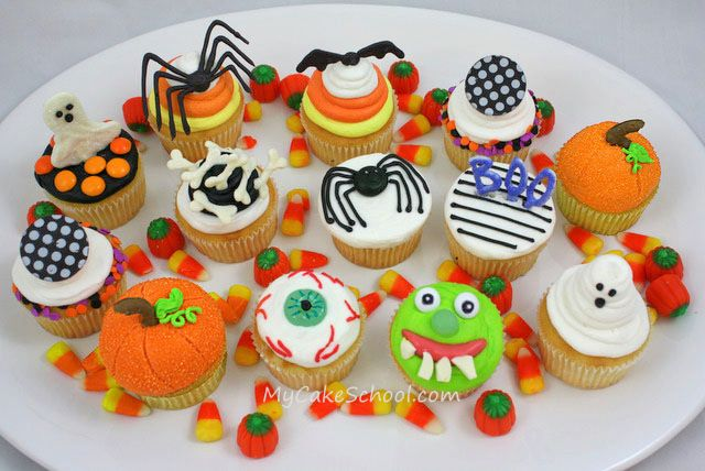 133 best Holidays! images on Pinterest Birthdays, Cooking recipes - how to decorate cupcakes for halloween