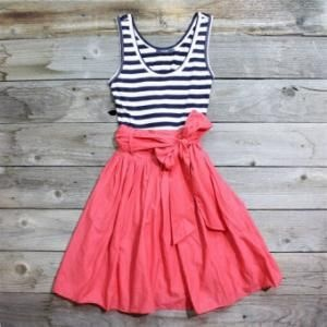 cute & summery: Colors Combos, Summer Dresses, Dresses Tutorials, Casual Summer, Skirts, Cute Dresses, Summer Outfits, Sewing Machine, Vintage Inspiration