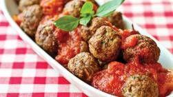 Gehaktballetjes in tomatensaus (airfryer)