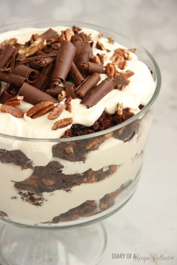 768 best images about delicious desserts on pinterest for Quick and easy trifle dessert recipes