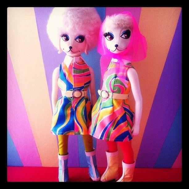 @caochan - #poodle #peteena #toy #vintagedoll #doll - EnjoyGram