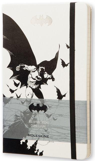 Moleskine Batman Limited Edition Hard Ruled Large Notebook by MOLESKINE S.P.A. (8052204400935) | hive.co.uk