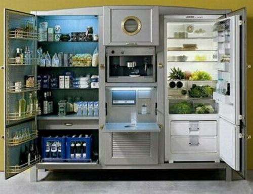 My Dream Refrigerator (or Is It Kitchen?) Global Urban Design   Large  Refrigerator Unit    New York Magazine. Find This Pin And More On STATE OF  THE ART ...