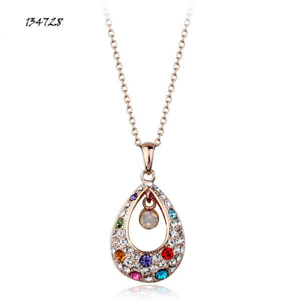 Необычные принцесса ожерелье австрийских кристаллов ожерелье оптовая продажа ювелирных изделий из Italina