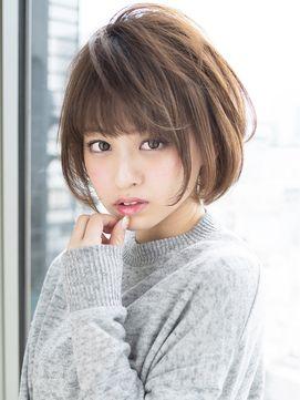 【メルトカラー】小顔スリークショート - 24時間いつでもWEB予約OK!ヘアスタイル10万点以上掲載!お気に入りの髪型、人気のヘアスタイルを探すならKirei Style[キレイスタイル]で。