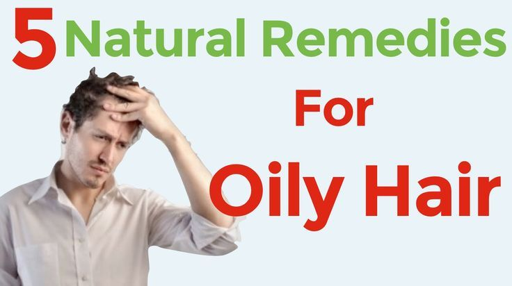 5 home remedies for oily and greasy hair and scalp / How to treat an oil
