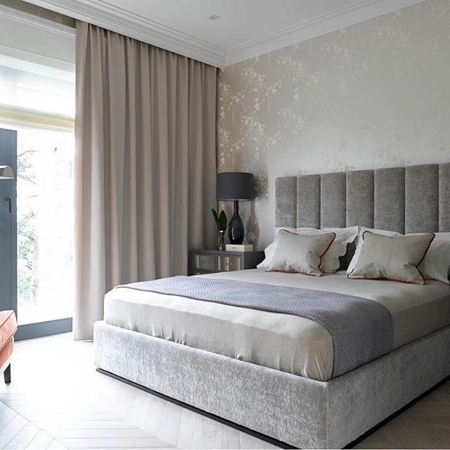 доброе утро ☀️ уютная спальня в реализованном проекте #bespacestudioпроектрублево  #interior #interiordesign #decor #design #dinasalakhova #интерьер #интерьердизайн #дизайнинтерьера #дизайнквартиры