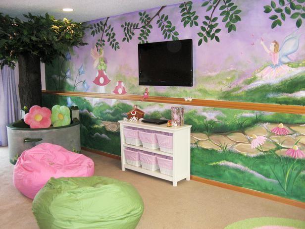 Contemporary kids 39 rooms sabrina soto designer for Fairy garden bedroom ideas