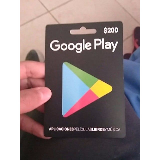 Google Play 200 Gift Card Google Play 200 Gift Card