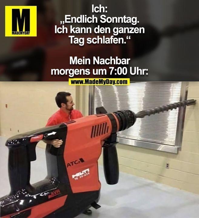 Sonntag lustig witzig Bild Bilder Spruch Sprüche Kram. Ausschlafen