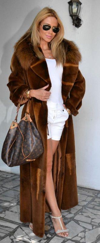 The coat...