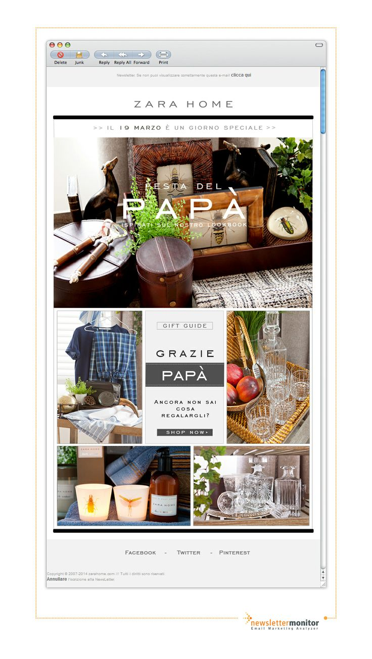 Brand: Zara Home | Subject: Festa del papà: Ancora non sai cosa regalargli?