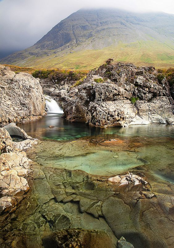 Fairy Pools-Isle of Skye, Scotland