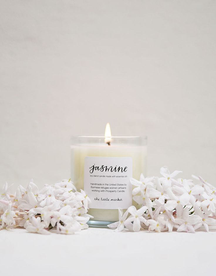Soy Blend Candle - Jasmine {from the little market}