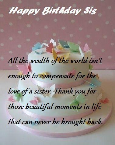 Happy Birthday To My Big Sister 20 Unique Quotes 2021