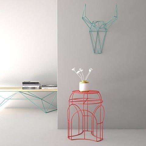 Еще одно цветовое решение наших кофейного столика ROTONDA, скамейки  MASSLESS2 и…