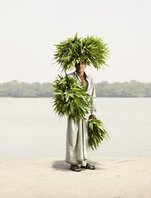 Flower Man by Ken Hermann