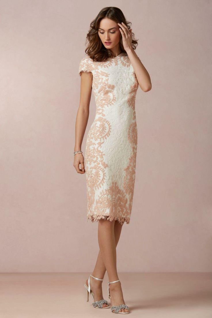 Ivory or off white mother of the groom dress