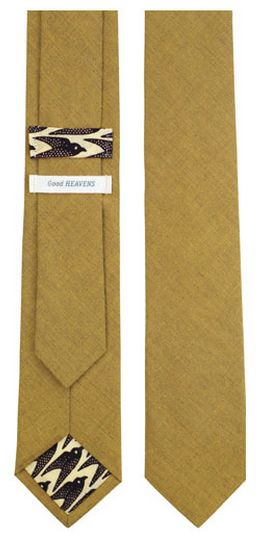 good heavens | mustard tie This is good to have! | See more about Men Wear, Heavens and Ties.