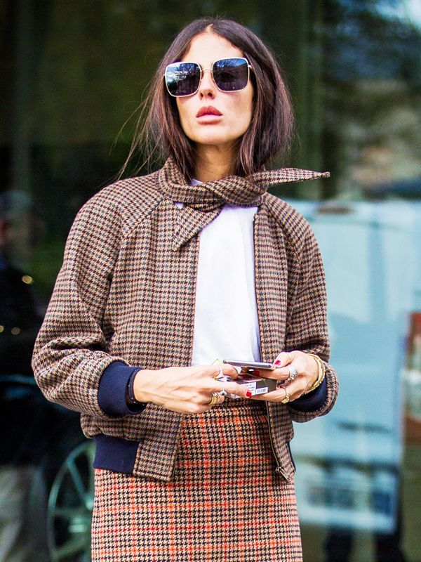 The Street Style Star Who Starts the Trends Everyone Else Copies via @WhoWhatWearUK