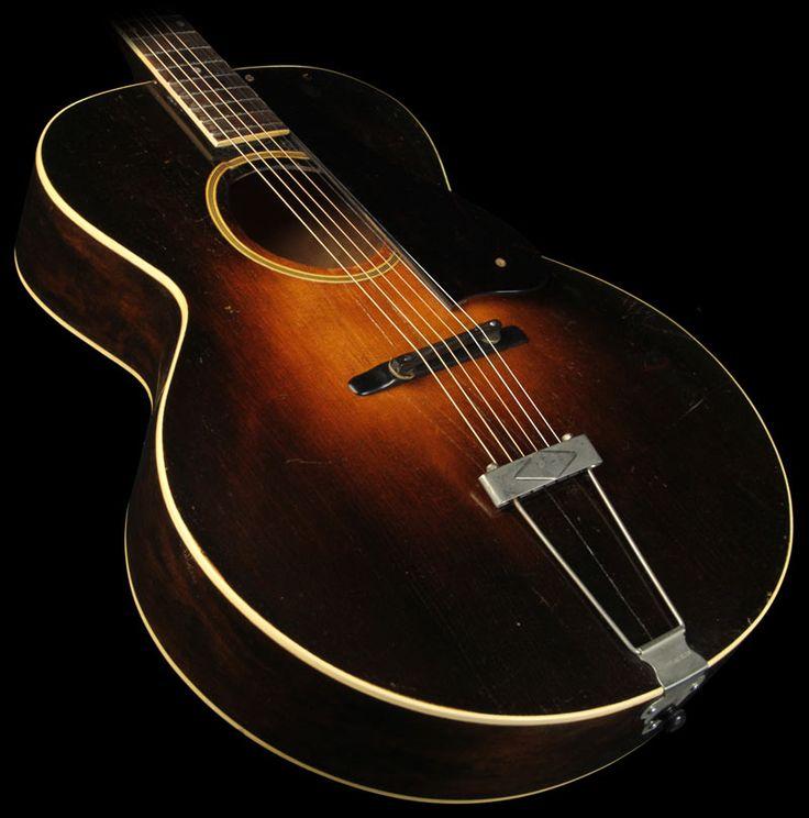 vintage 1928 gibson vintage l4 archtop acoustic guitar music guitar gibson acoustic. Black Bedroom Furniture Sets. Home Design Ideas