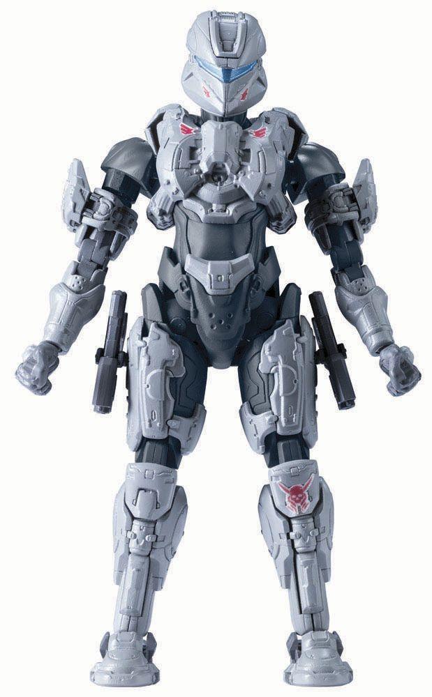 Maqueta Sarah Palmer 13 cm. Halo. Bandai Estupenda maqueta para montar de Sarah Palmer de 13 cm de altura, fabricado en PVC y vista en el videojuego Halo, 100% oficial y licenciada.