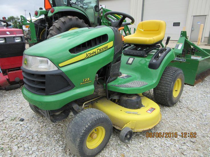 John Deere 125 Automatic Lawn Amp Garden Tractor John