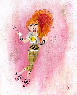 Goonies Are Good Enough For MeArt Express, Stylish People, Cyndi Rocks, Illustration, Arty Art, Good Enough, Cyndi Lauper, Awesome Artists, Art Art
