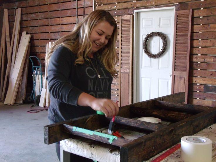 Blanket Ladder Workshop www.shabbychicworkshops.com