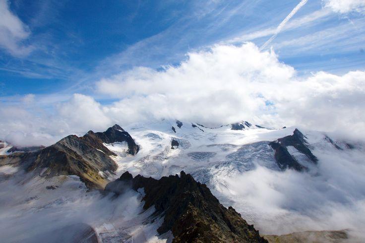 Pitztaler Gletscher im Sommer