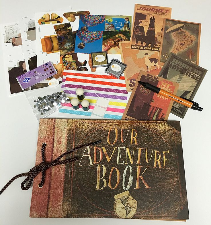 Disney Discovery- UP Adventure Book Scrapbook Set