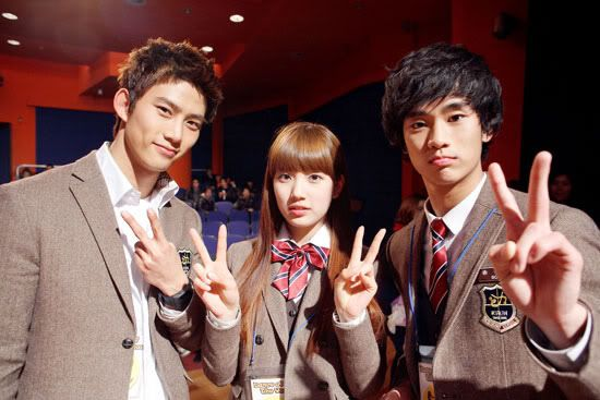 Cuteness abounds on the set of Dream High » Dramabeans » Deconstructing korean dramas and kpop culture