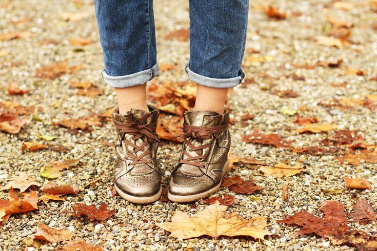 sneakers con la zeppa #shoes #sneakers www.ireneccloset.com