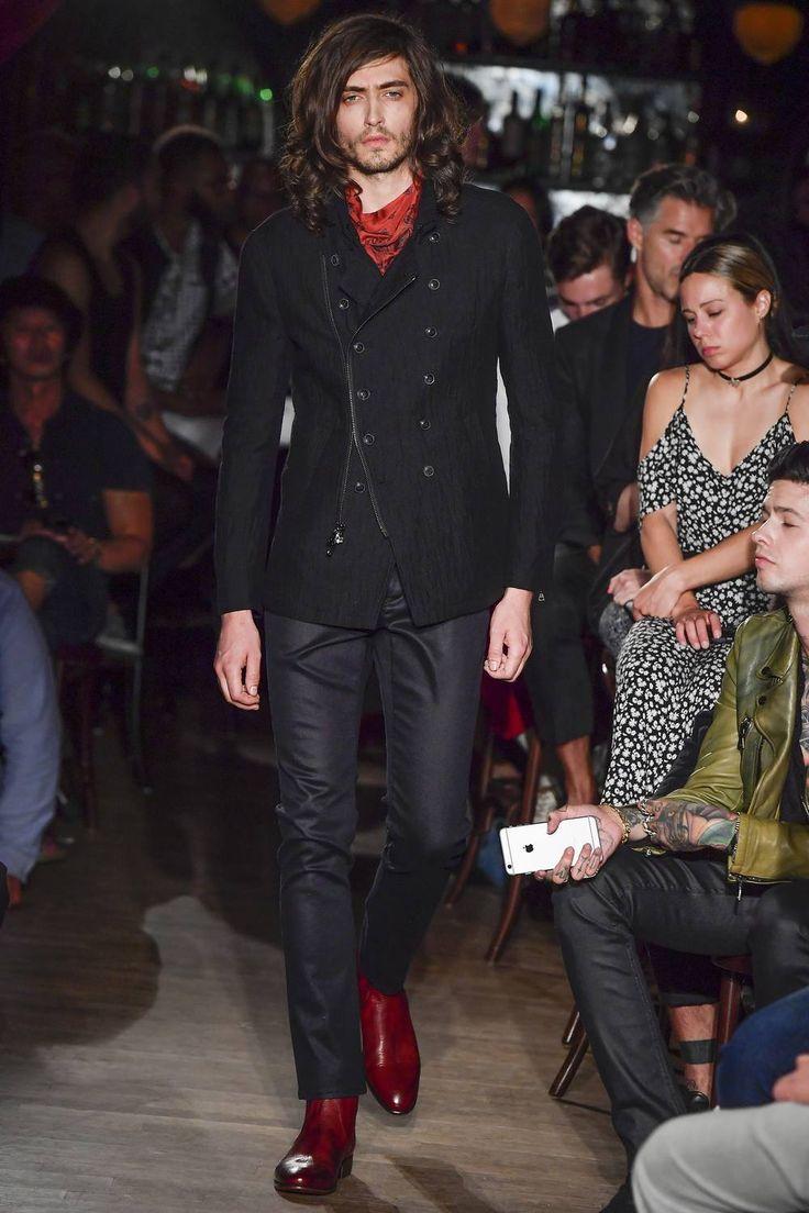 John Varvatos Spring-Summer 2017 New York Fashion Week Men's