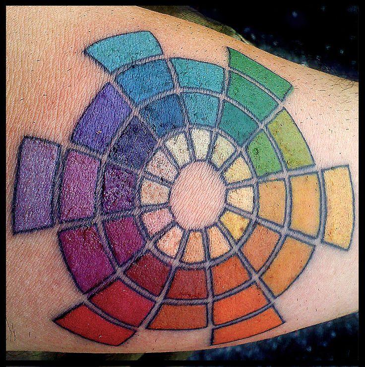 color wheel tattoo - Google Search