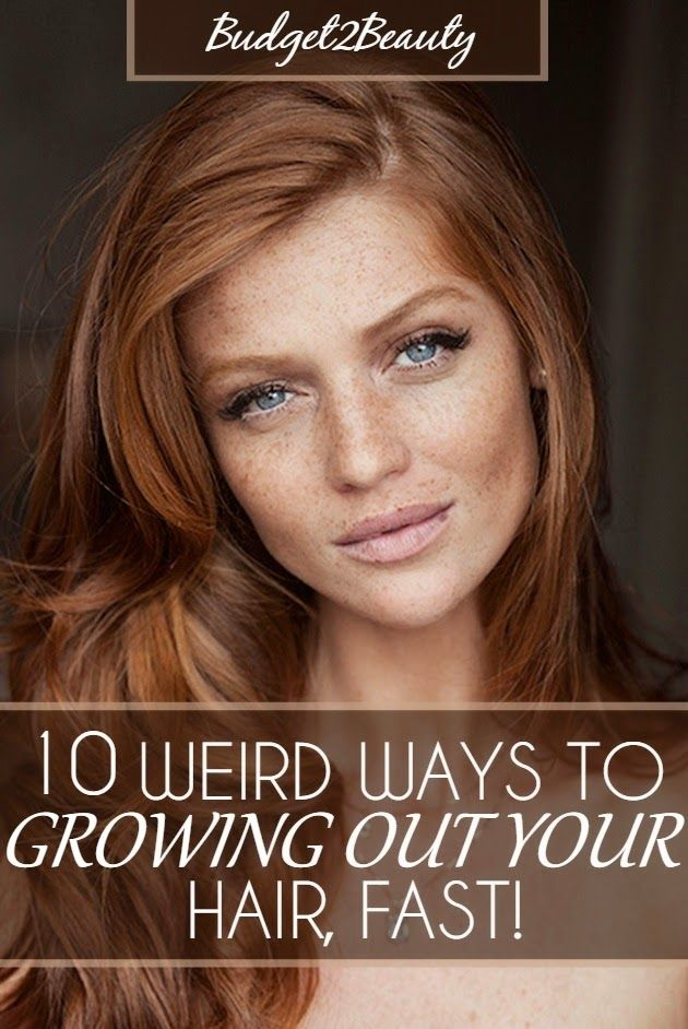 how to cut your hair to grow it out