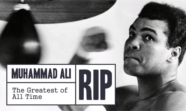 The Legend Will Be Missed Always.  #MohammadAli