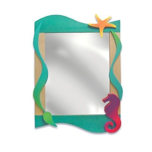 Tropical Seas Wall Mirror #RoomMagic