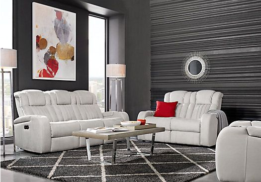 Complete suites of leather furniture for sale. Find a leather living room set online. Red, brown, white, black leather living room sets & more.