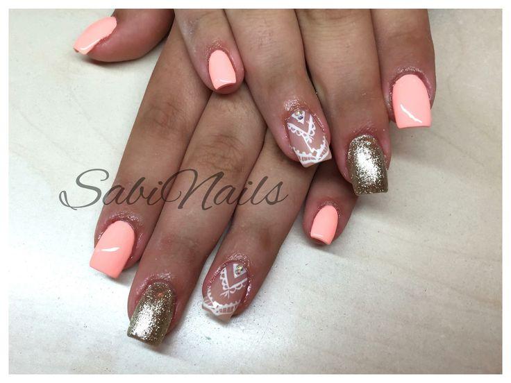 #SabiNails #Nails #Spring #Gel