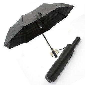 Amazon.co.jp: バーバリー( Burberry ) バーバリー チェックライン フォールディング アンブレラ 折りたたみ傘 ブラック/ダークチャコールチェック 3833665 BLACK DARC CHARCOAL CHECK 傘[並行輸入品]: 服&ファッション小物