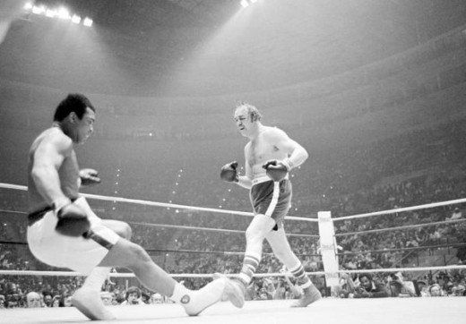 "Chuck Wepner was a professional boxer from Bayonne, New Jersey. His fight against Muhammad Ali in 1975 inspired Sylvester Stallone to make the movie ""Rocky."""